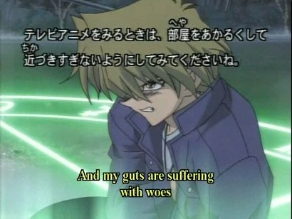 Screenshot from HK DVD episode 171