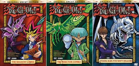 YGO Uncut DVDs