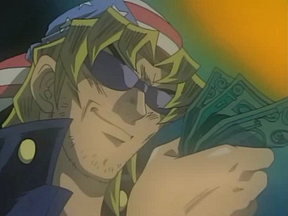 Bandit Keith loving his money in episode 32