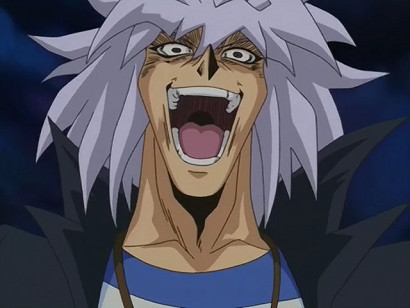Creepy Bakura in episode 211