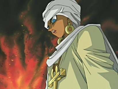 Shadi looking badass in episode 85/YGOTAS episode 41