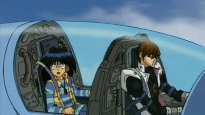 Mokuba and Kaiba in Little Kuriboh's Mokuba After Dentist