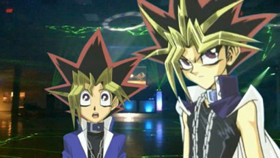 Yugi and Yami at the YGOTAS third anniversary celebration