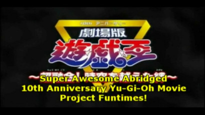 Screenshot of Little Kuriboh's 10th Anniversary Abridged Trailer