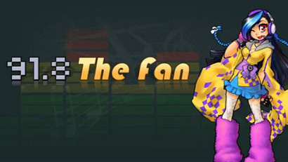 Logo of 91.8 The Fan