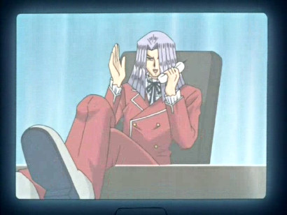 Pegasus on a videophone in episode 148
