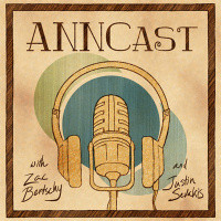 Logo for the ANNCast on Anime News Network