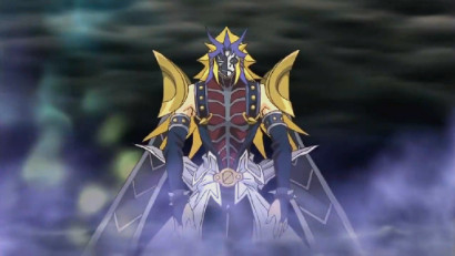 Paradox, the villain of Yu-Gi-Oh! 3D: Bonds Beyond Time