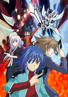 Promotional image for the Cardfight!! Vanguard anime