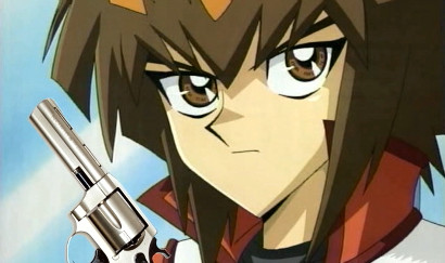 Jaden Yuki packing heat in JADEN'S RAP by Little Kuriboh and ShadyVox
