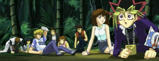 Yugi and the gang find themselves in a jungle in episode 98