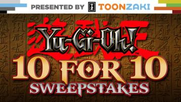 Yu-Gi-Oh! 10 For 10 Sweepstakes logo
