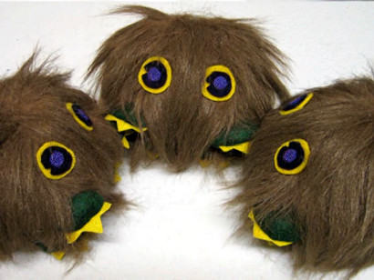 Kuriboh plushies up for auction