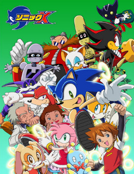 Characters from the Sonic X anime