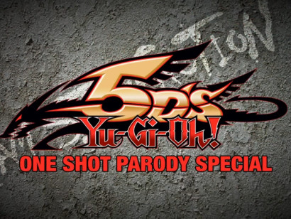 Yu-Gi-Oh! 5D's One Shot Parody Special title card
