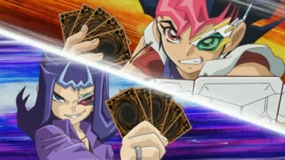 Yuma and Shark set to duel in a preview clip of Yu-Gi-Oh! Zexal