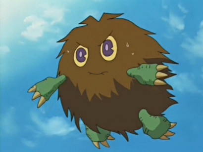 Yami summons Kuriboh in YGOTAS episode 55