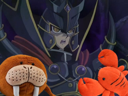 Jaden Yuki and his own evil force in Little Kuriboh's Evil Council 5 video