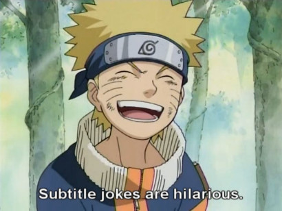 Subtitle jokes are hilarious, says Naruto in episode 8 of LK's Naruto Spoof Series Show