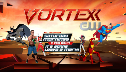 MyVortexx.com was updated to display characters from Vortexx's lineup of shows