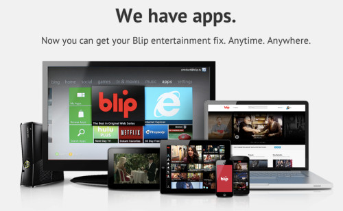 Blip.tv now has apps