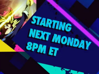 Yu-Gi-Oh! premieres next Monday, March 11, on Nicktoons