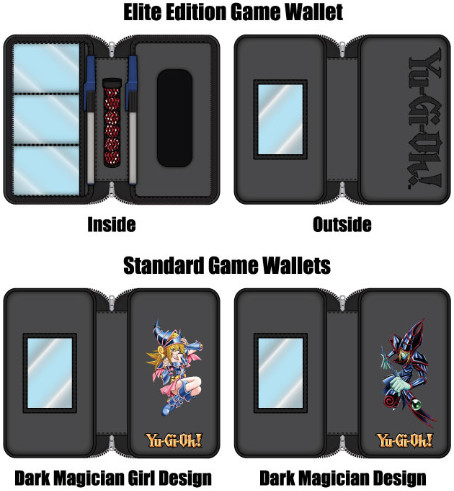 The winning design of WizKids/NECA's Yu-Gi-Oh! TCG Card Wallet