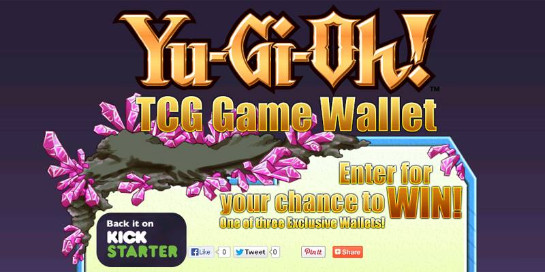 Screenshot of YuGiOhGameWallet.com