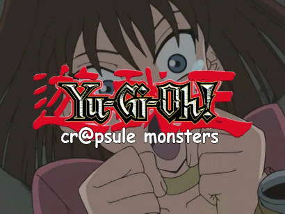 Yu-Gi-Oh! Cr@psule Monsters logo from episode 3