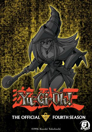 Yu-Gi-Oh! season 4 DVD set box mock-up from Cinedigm