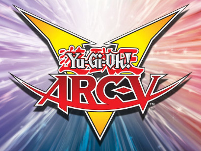 Yu-Gi-Oh! ARC-V English language international logo