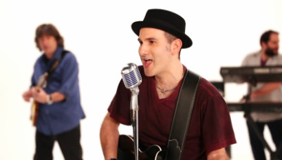 Eric Stuart in the My Love Can Change That music video