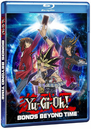 Yu-Gi-Oh! Bonds Beyond Time Blu-ray cover mock-up from Cinedigm