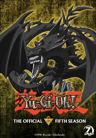 Yu-Gi-Oh! season 5 DVD set box mock-up from Cinedigm