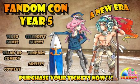 FANdom Con 2014's banner on Facebook