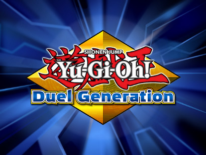 Title screen of Yu-Gi-Oh! Duel Generation