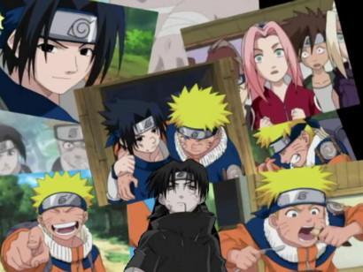 Sasuke's memories of Naruto and more in episode 9 of the Naruto Abridged Spoof