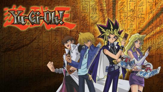 Yu-Gi-Oh! banner on Netflix