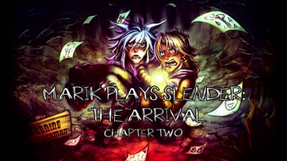 Marik Plays Slender The Arrival artwork by Rivan145th