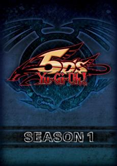Yu-Gi-Oh! 5D's season 1 Cinedigm DVD box mock-up