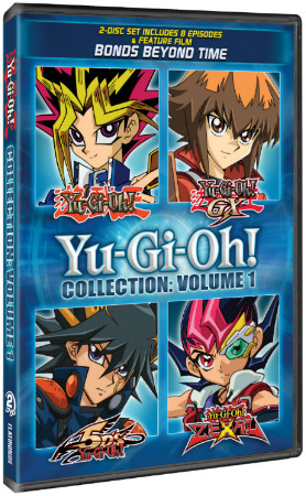 Yu-Gi-Oh! Collection: Volume 1 DVD cover mock-up from Cinedigm