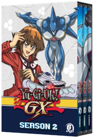 Yu-Gi-Oh! GX season 2 DVD set box mock-up from Cinedigm