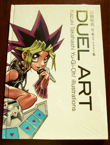 Photo of Duel Art Kazuki Takahashi Yu-Gi-Oh! Illustrations English art book cover