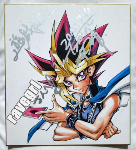 Kazuki Takahashi autograph