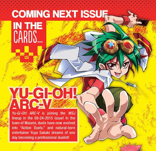 Yu-Gi-Oh! ARC-V manga to premiere in August 24, 2015 issue of VIZ Media's Weekly Shonen Jump