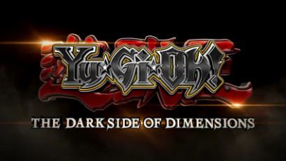 Yu-Gi-Oh! The Dark Side of Dimensions logo from the Japanese teaser video