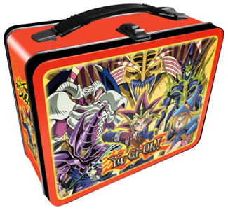 Yu-Gi-Oh! lunch box design mock-up from Aquarius Entertainment Merchandising