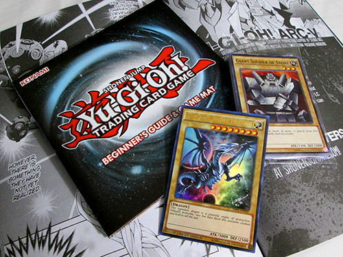 Yu-Gi-Oh! TCG cards and extras included with VIZ Media's Spring 2016 WSJ Jump Pack
