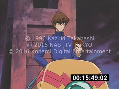 Screenshot from the Yu-Gi-Oh! April Fools English dub hoax video