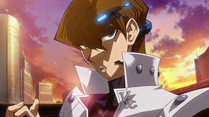 Seto Kaiba in a Yu-Gi-Oh! The Dark Side of Dimensions teaser video